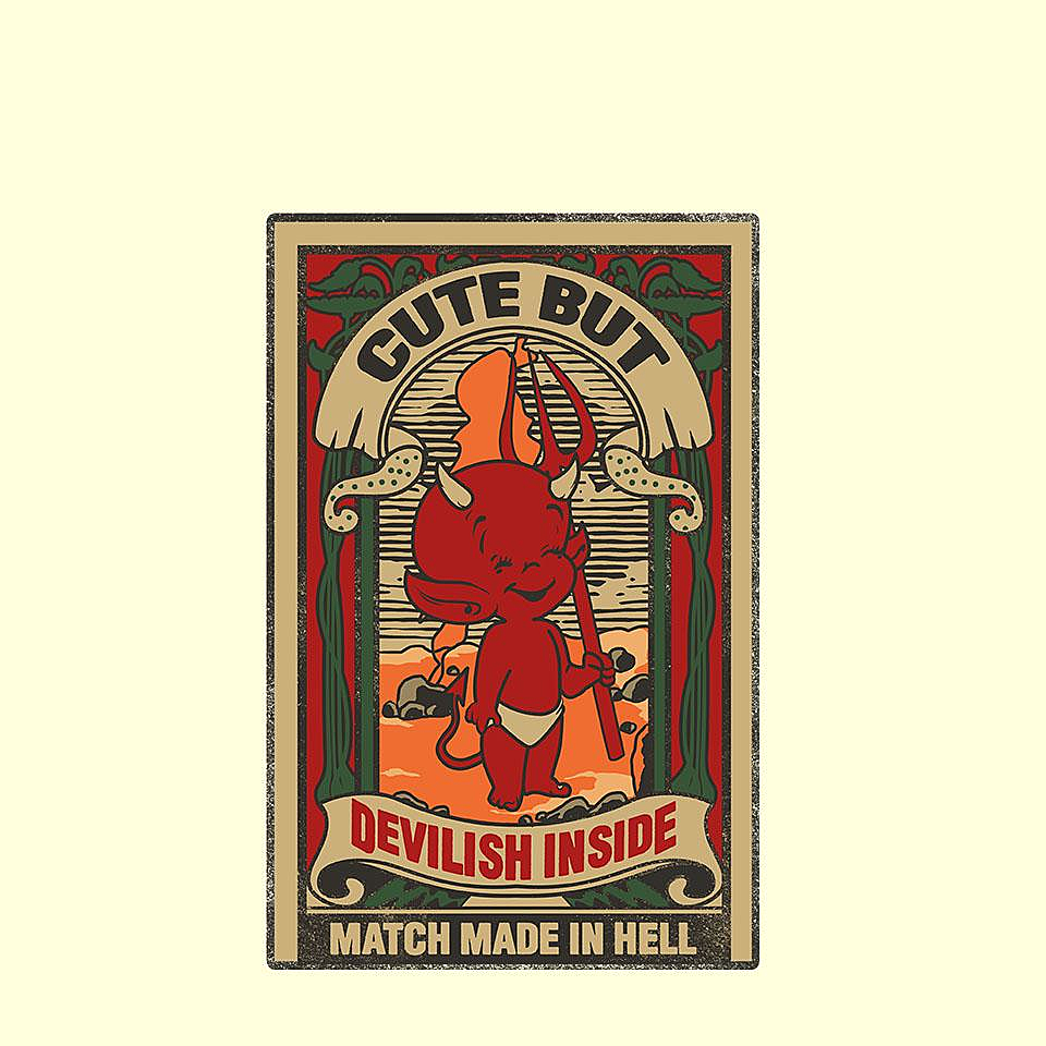 TeeFury: Match Made in Hell