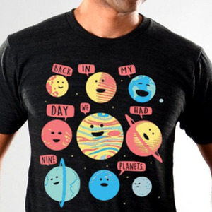 SnorgTees: Back In My Day We Had Nine Planets Limited Edition Tri-Blend