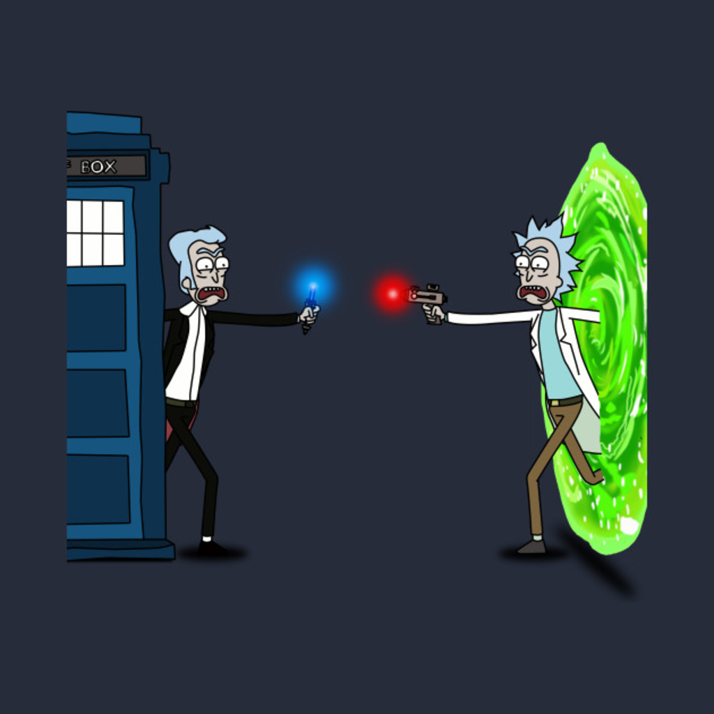 TeePublic: Ricktions in Time and Space