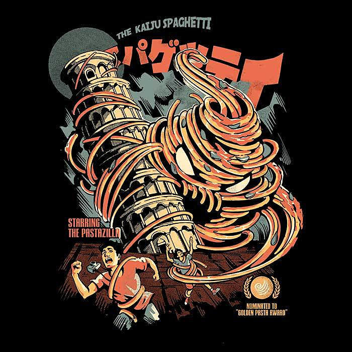 Once Upon a Tee: The Kaiju Spaghetti - Women's Apparel