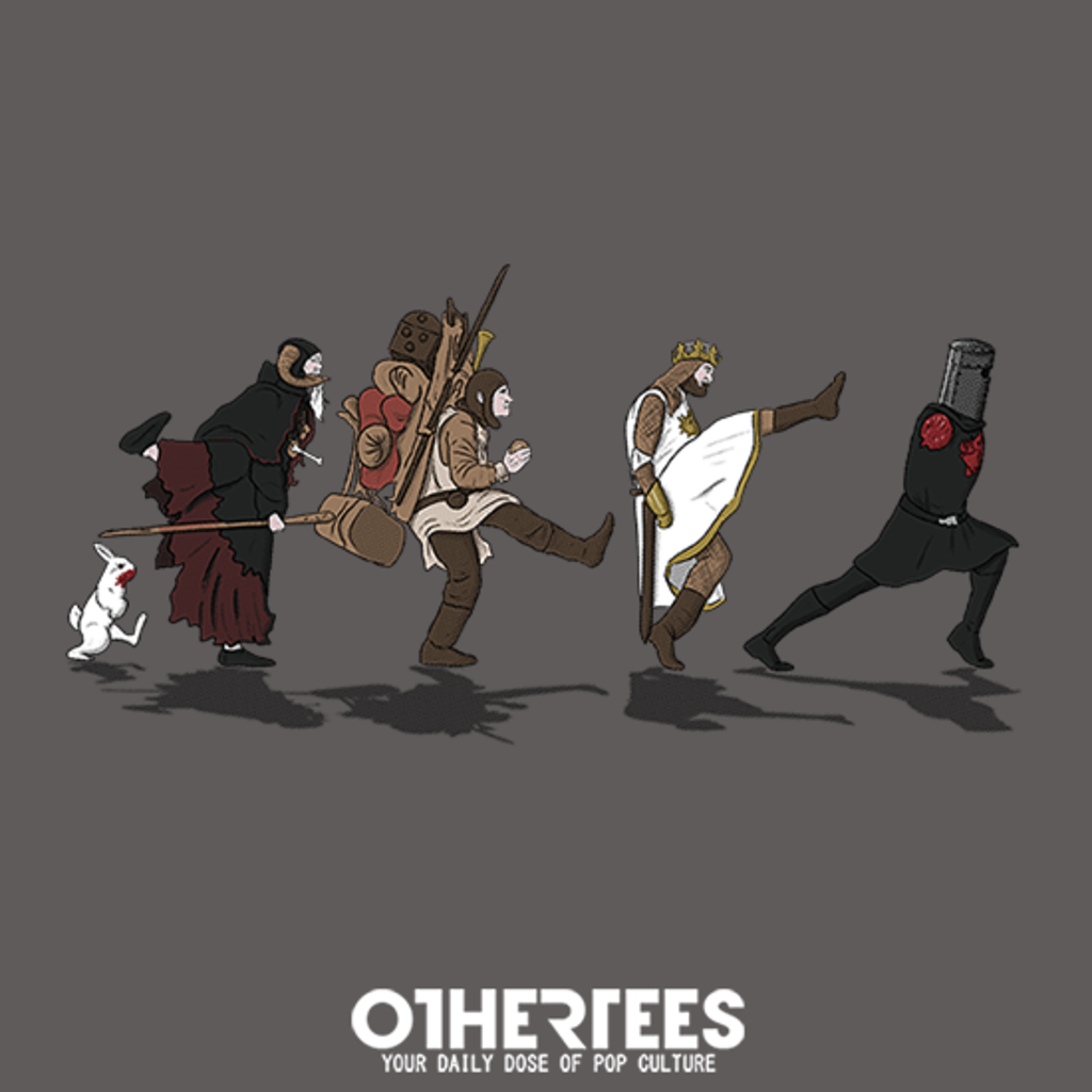 OtherTees: Walking to Grail