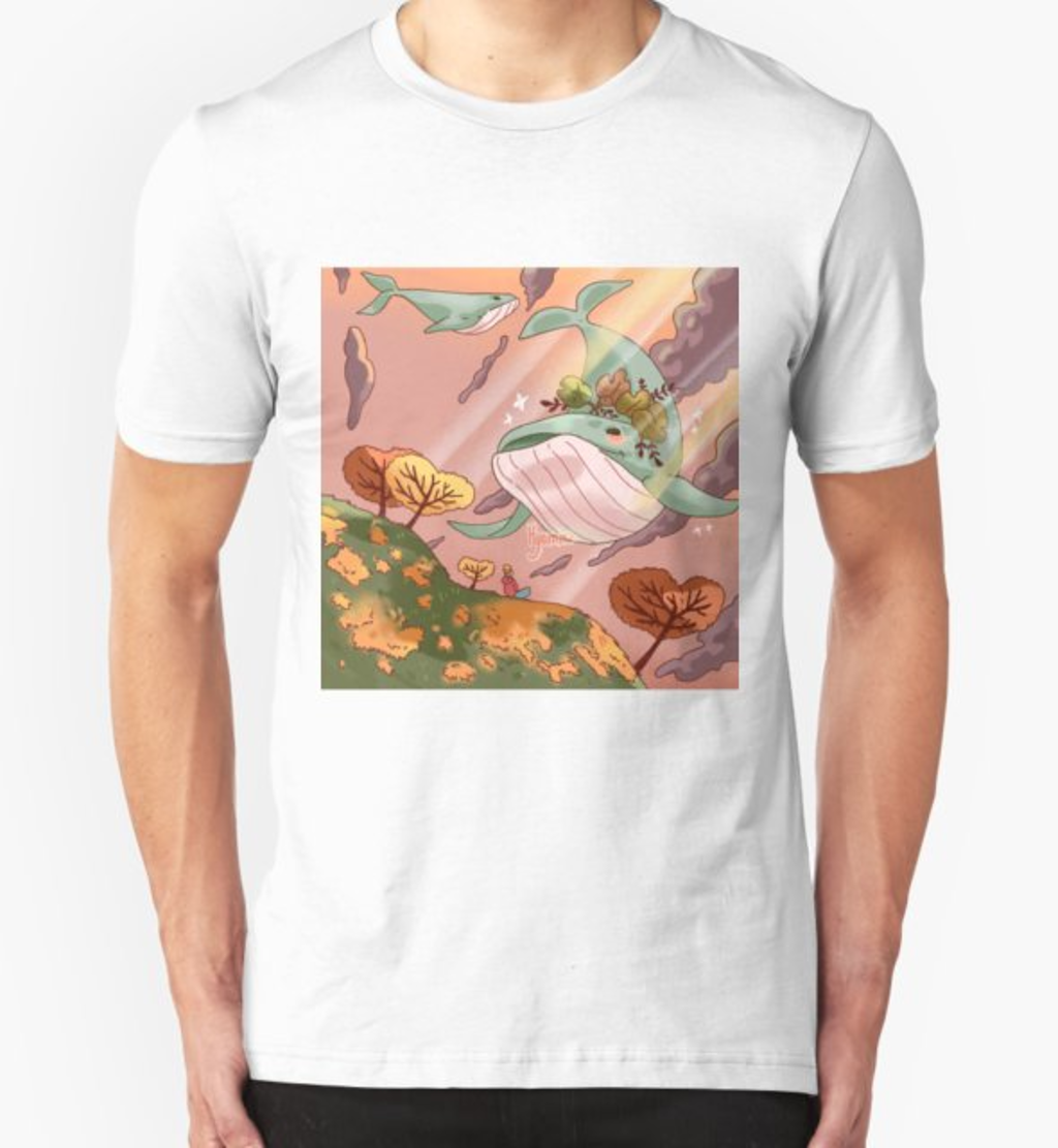RedBubble: Giant Whales