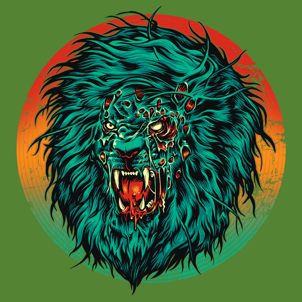 NeatoShop: Zombie Lion