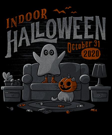 Qwertee: Indoor Halloween