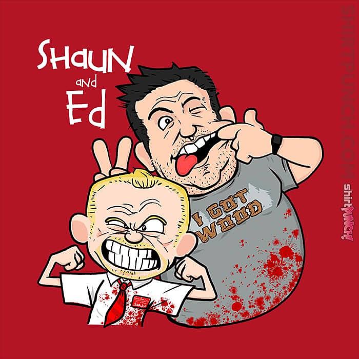 ShirtPunch: Shaun And Ed