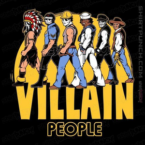 ShirtPunch: The Villain People