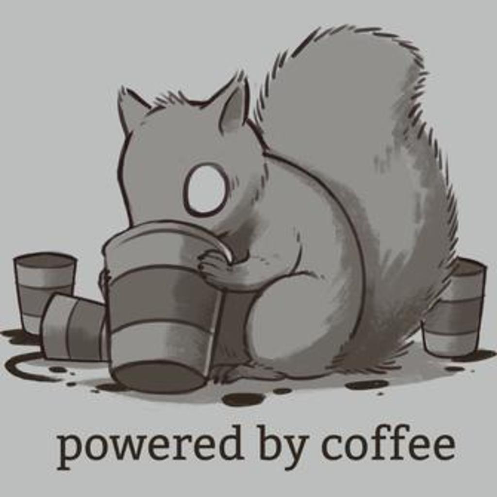 TeeTurtle: Powered By Coffee