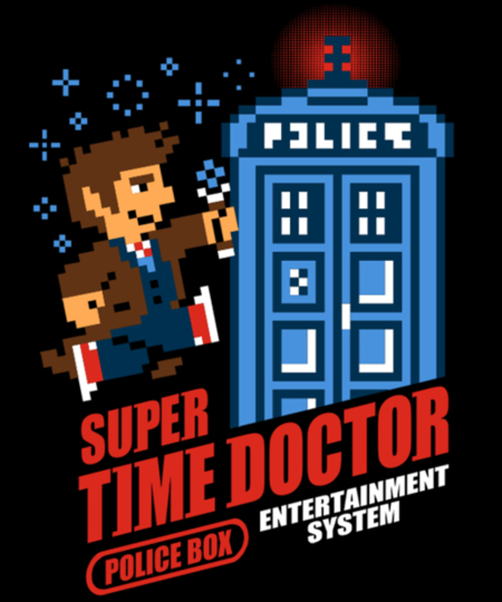 Qwertee: Super Time Doctor