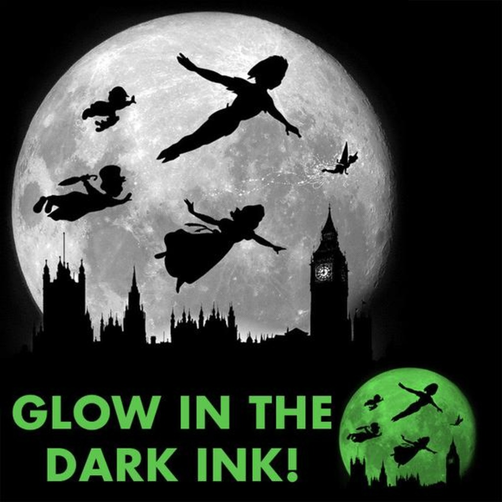 Tee11: Full Moon Over London – Glow In The Dark