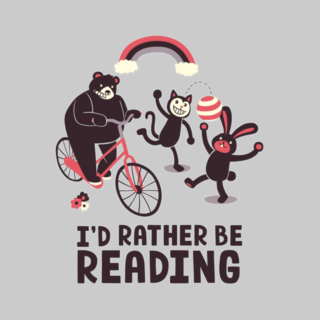 NeatoShop: I'd Rather Be Reading