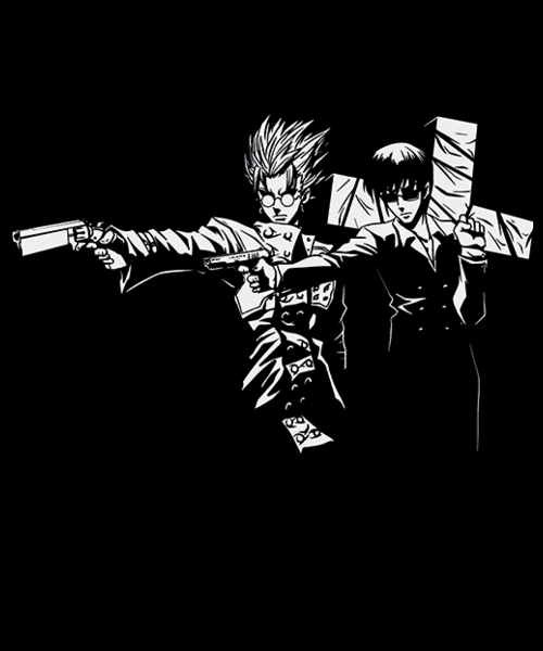 Qwertee: Trigun Fiction