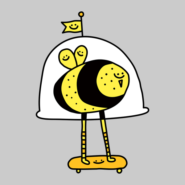 NeatoShop: Space Bee - Porky Roebuck