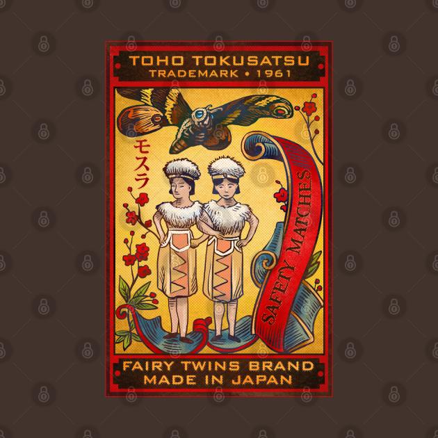 TeePublic: Mothra Matches