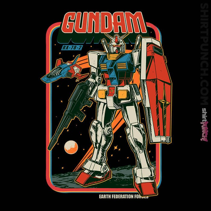 ShirtPunch: Retro RX-78-2