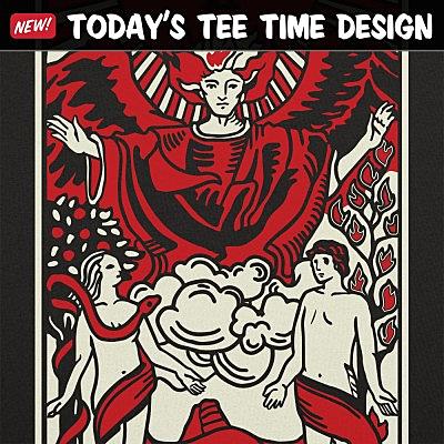6 Dollar Shirts: Tarot Lovers