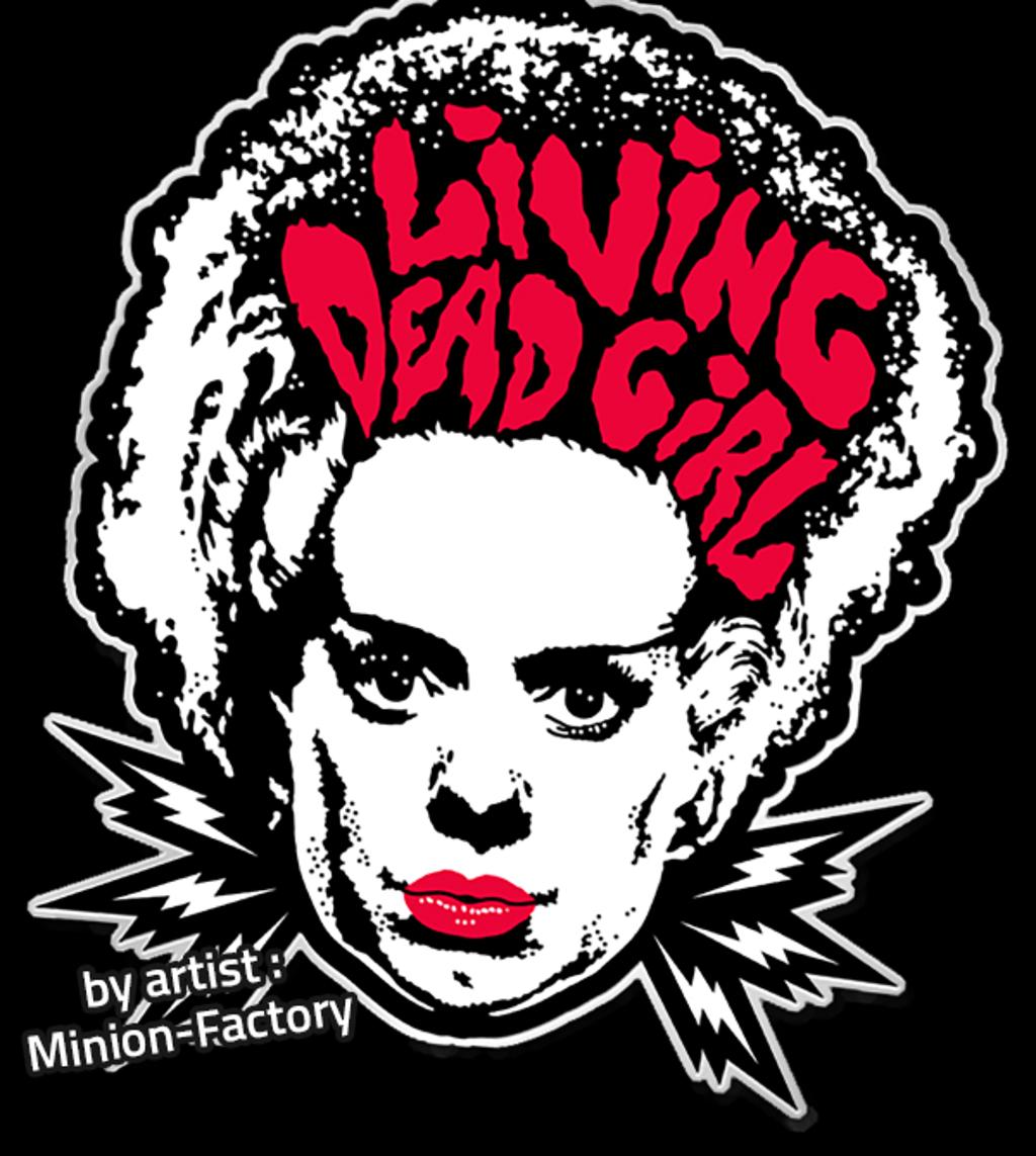teeVillain: Living Dead Girl Pin