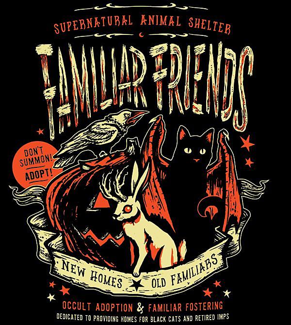 teeVillain: Familiar Friends