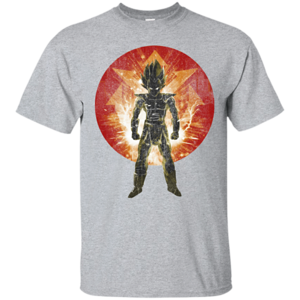 Pop-Up Tee: Red Saiyan Storm