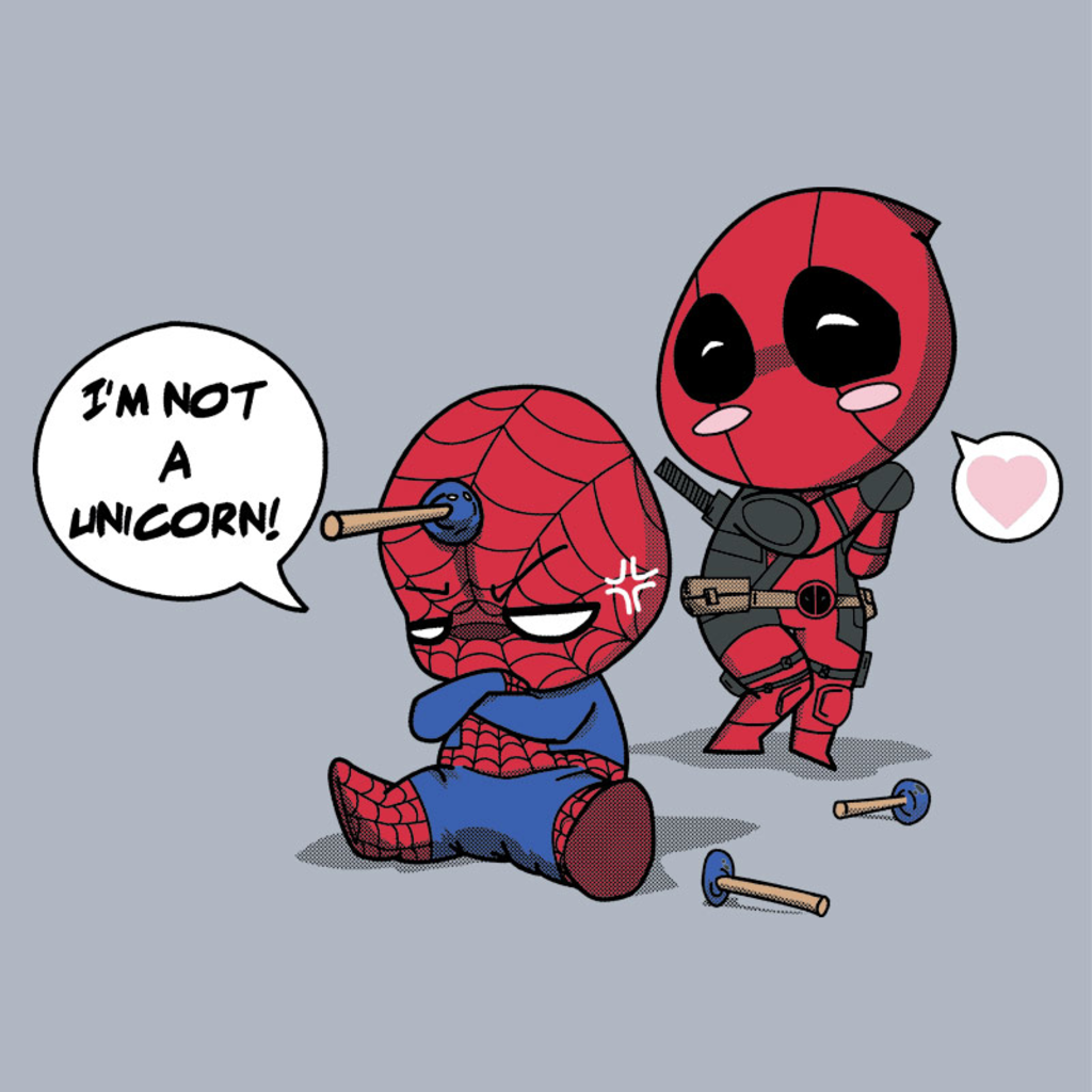 Pampling: Unicorn Spidey