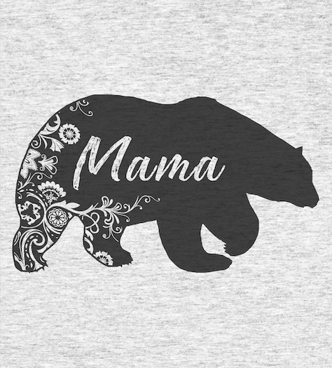 Shirt Battle: Mama Bear