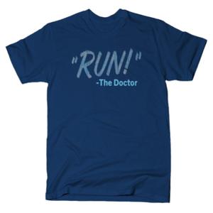 SnorgTees: RUN! The Doctor