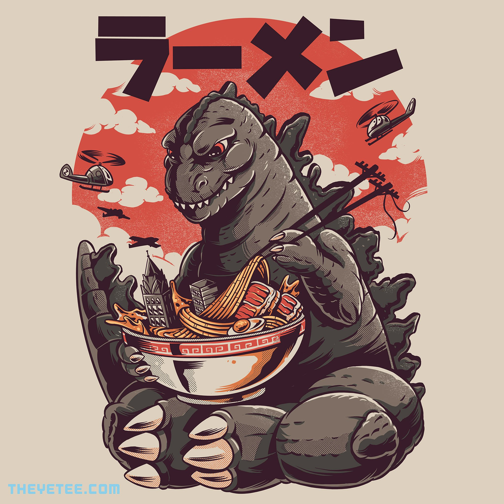 The Yetee: Kaiju's Ramen