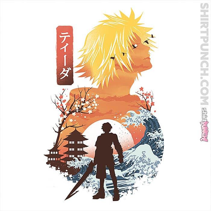 ShirtPunch: Ukiyo Tidus