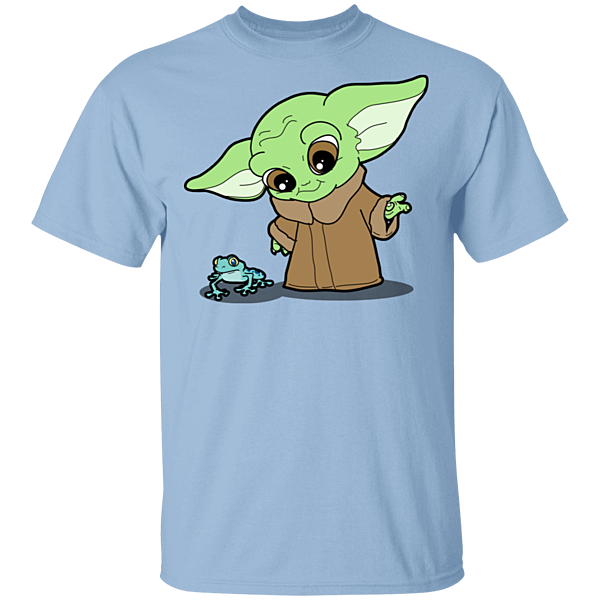 Pop-Up Tee: Baby Yoda and Frog