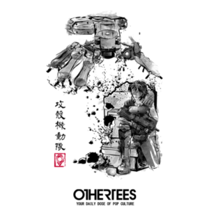 OtherTees: Major vs. Tank Sumi-e