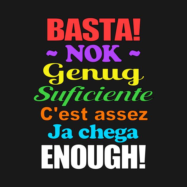 TeePublic: Basta in Seven Languages