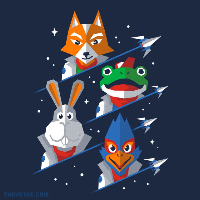 The Yetee: Corneria Defense Force