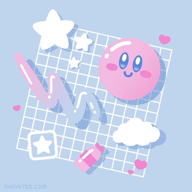 The Yetee: Pink Puff Aesthetic
