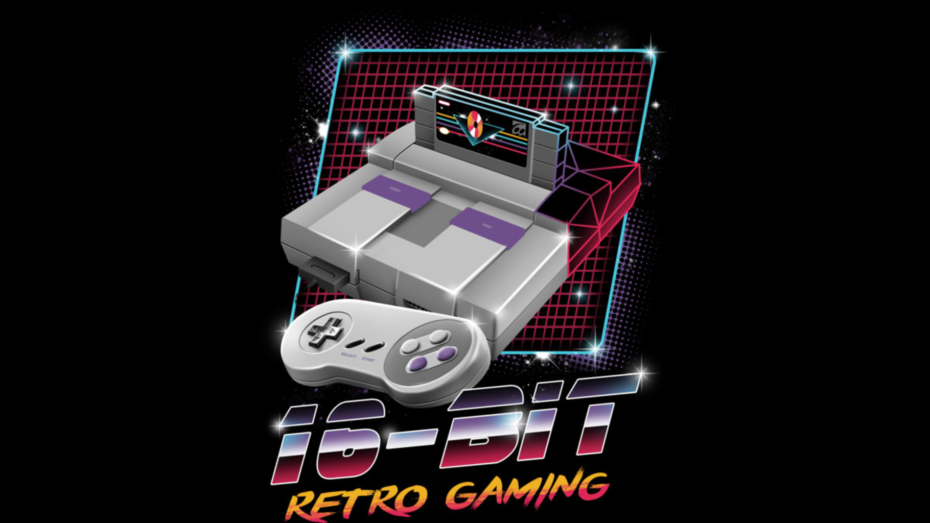 Design by Humans: 16-Bit Retro Gaming