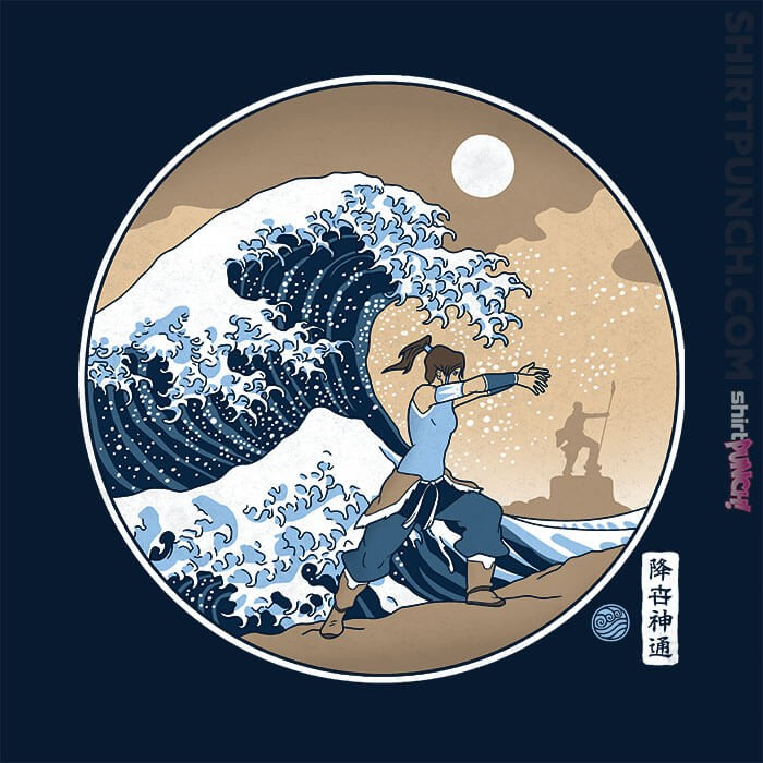 ShirtPunch: The Great Wave Of Republic City