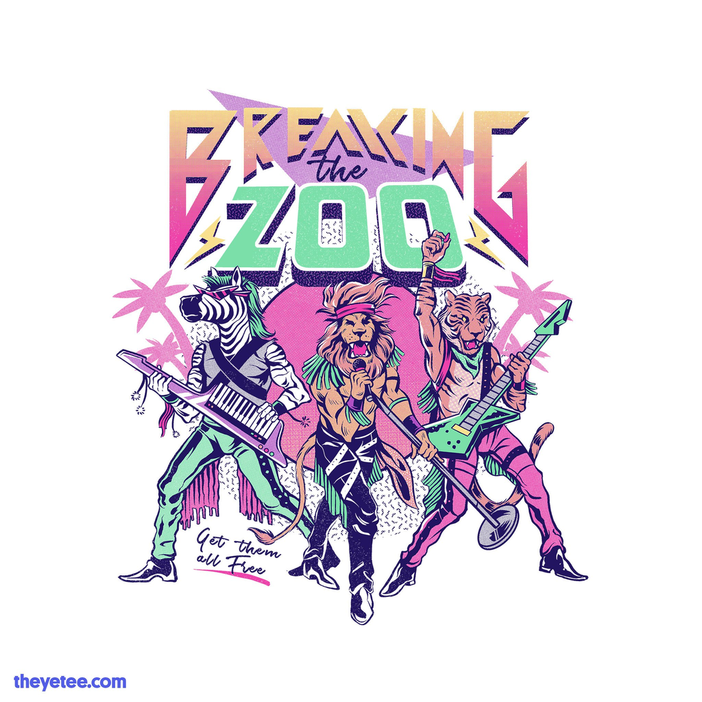 The Yetee: Breaking the Zoo!