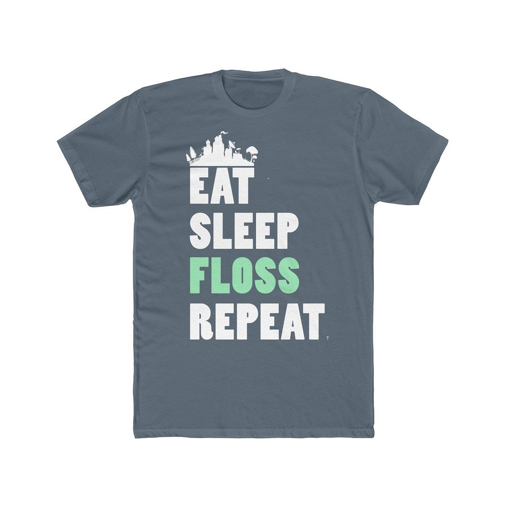 Snappy Kid: Eat Sleep Floss Repeat Fortnite T-Shirt
