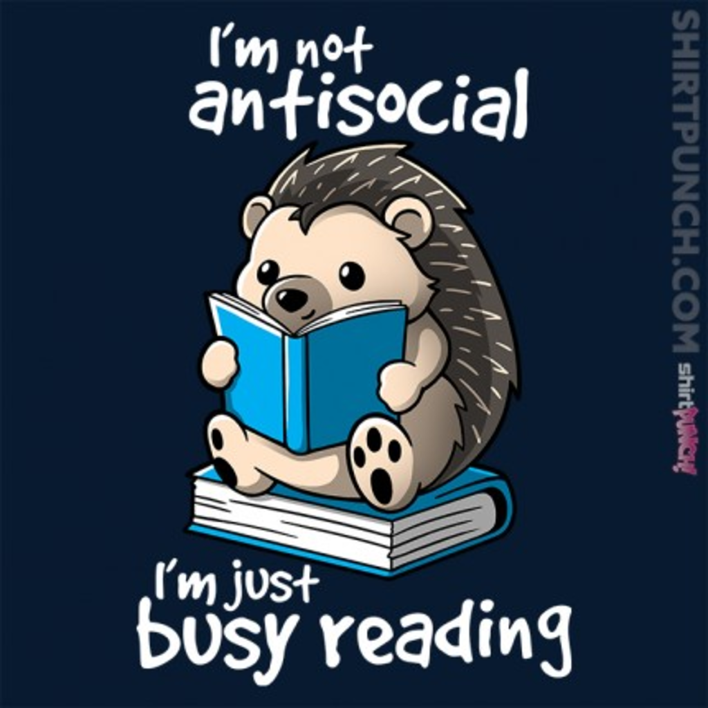 ShirtPunch: Antisocial Hedgehog