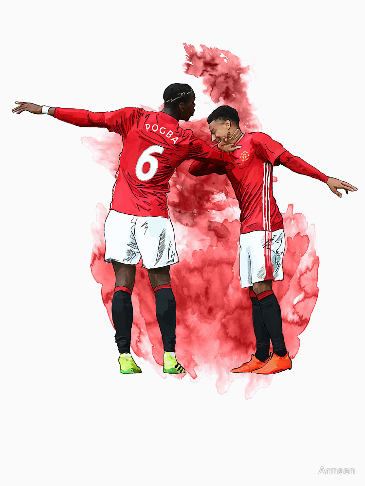RedBubble: Pogba and Lingard Art - Dab
