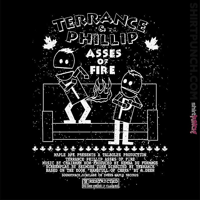 ShirtPunch: Terrance And Phillip
