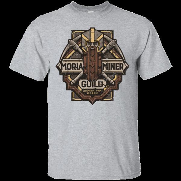 Pop-Up Tee: Moria Miner Guild