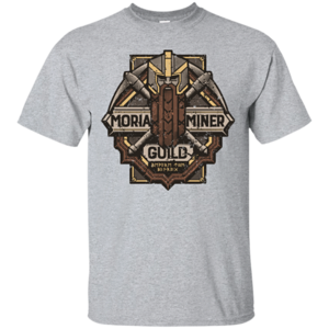 Pop-Up Tee: Moria Miner Guild