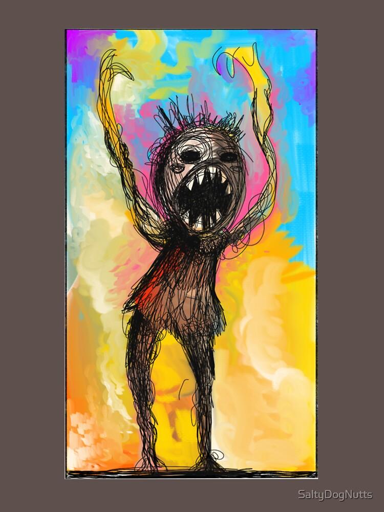 RedBubble: creepy man sketch