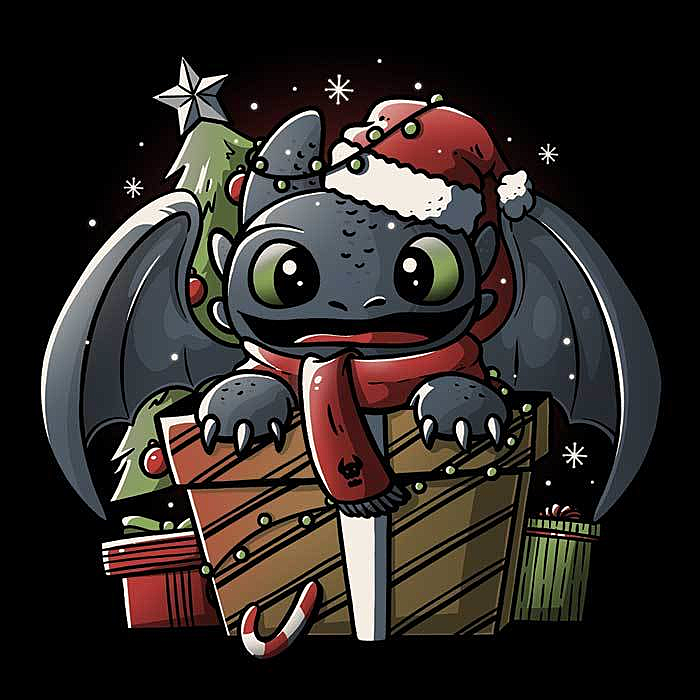 Once Upon a Tee: Dragon Gift