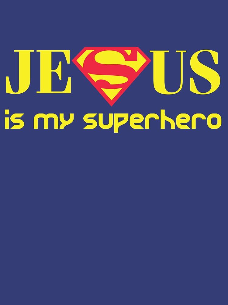 RedBubble: Jesus Is My Superhero