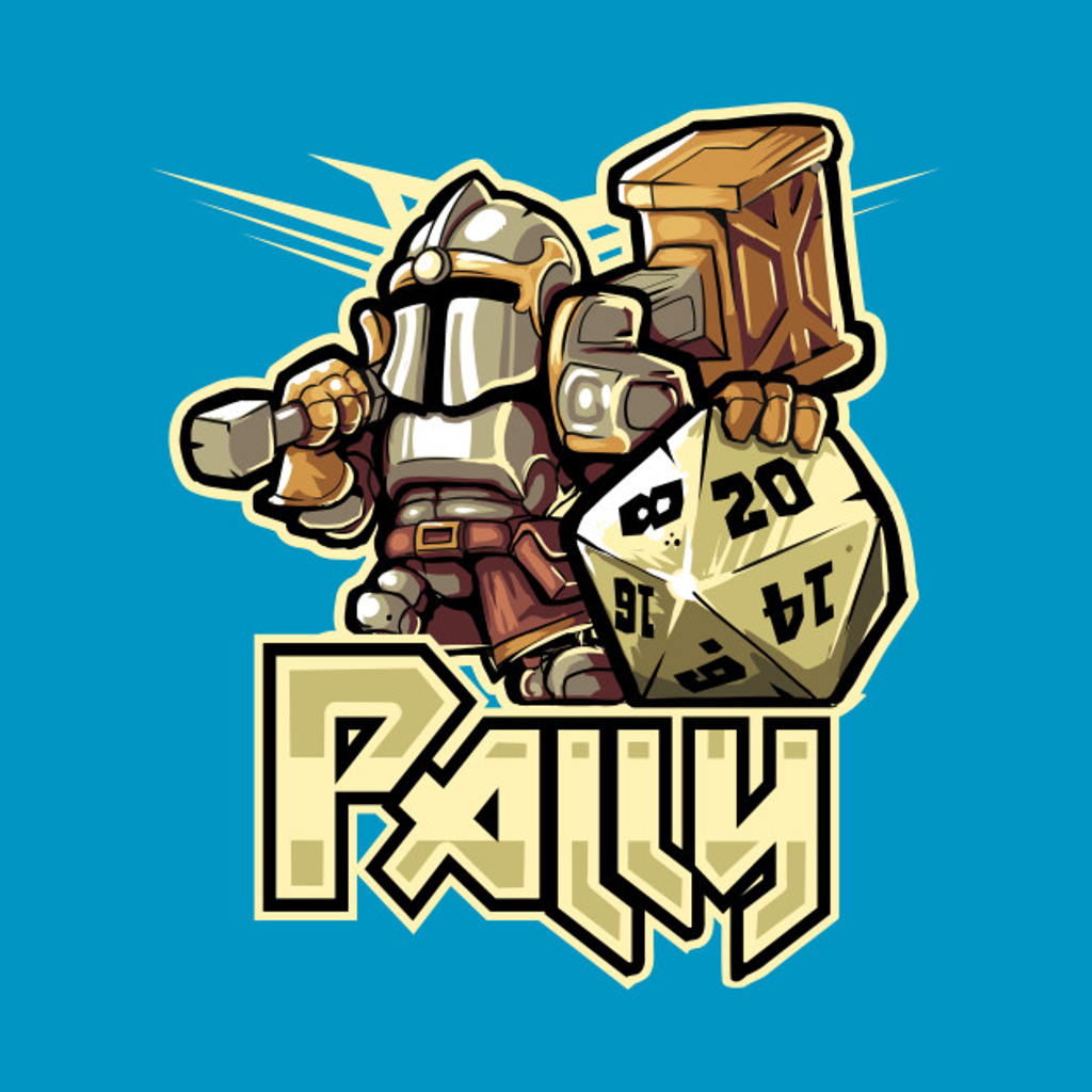 TeePublic: Mini RPG Paladin