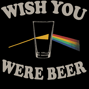 Qwertee: Wish You Were Beer