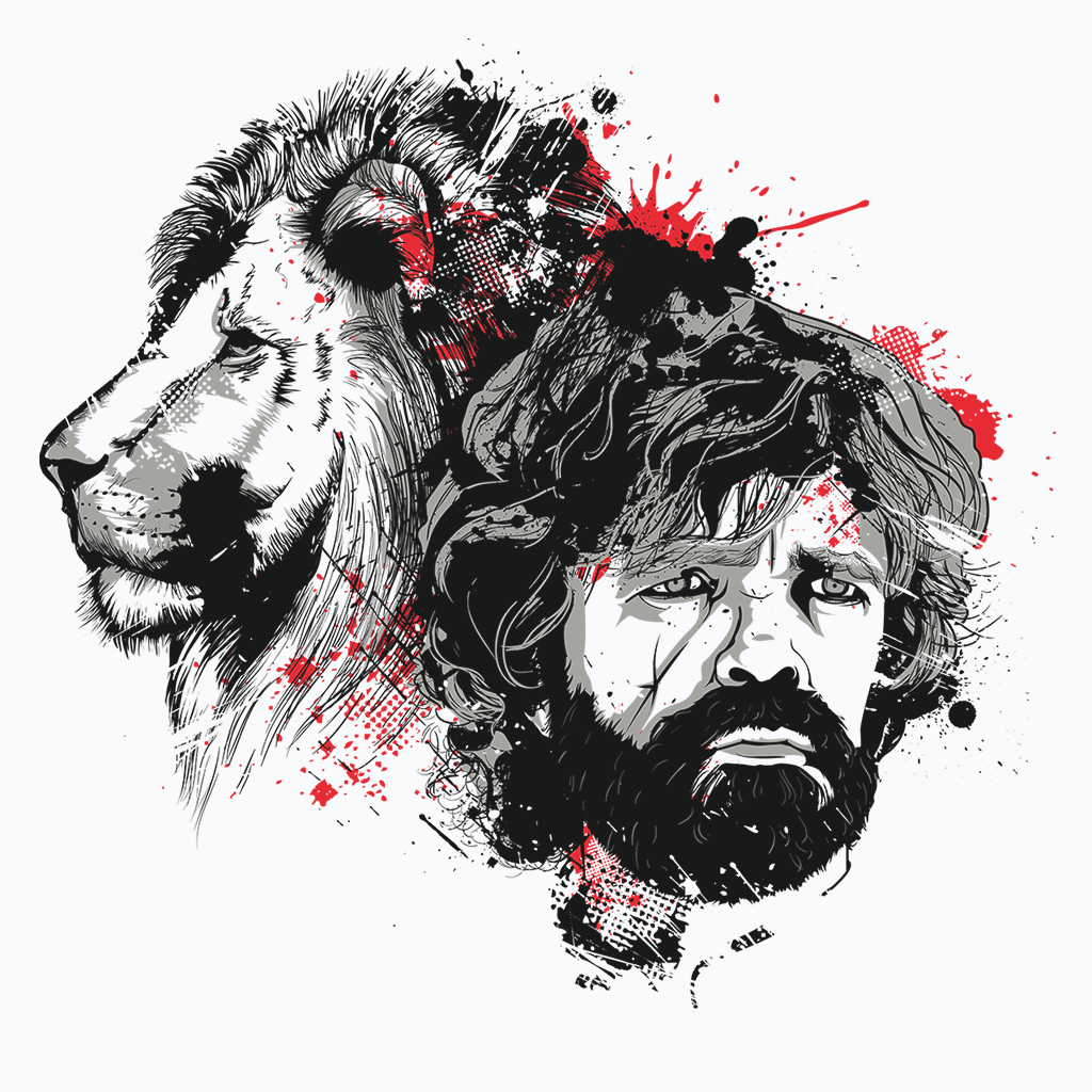 Pop-Up Tee: My Lion