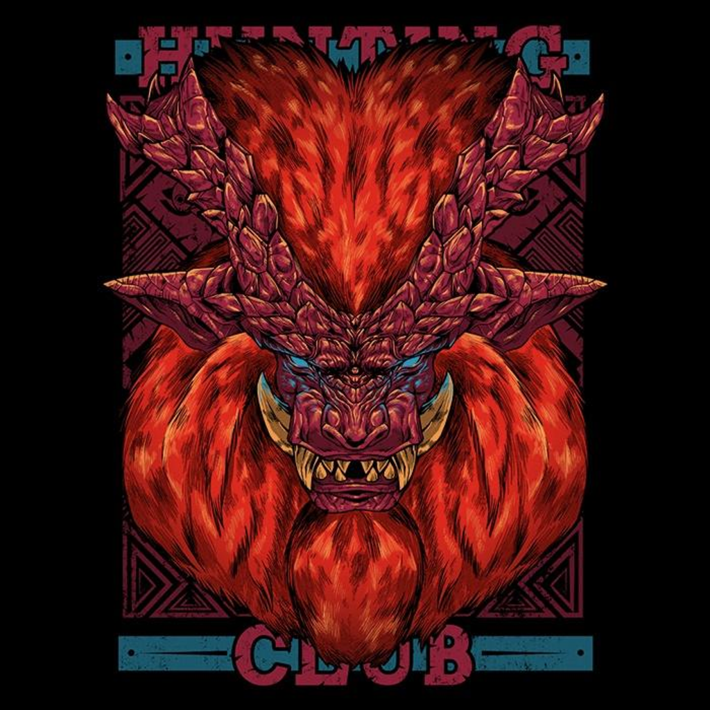 Once Upon a Tee: Hunting Club: Teostra