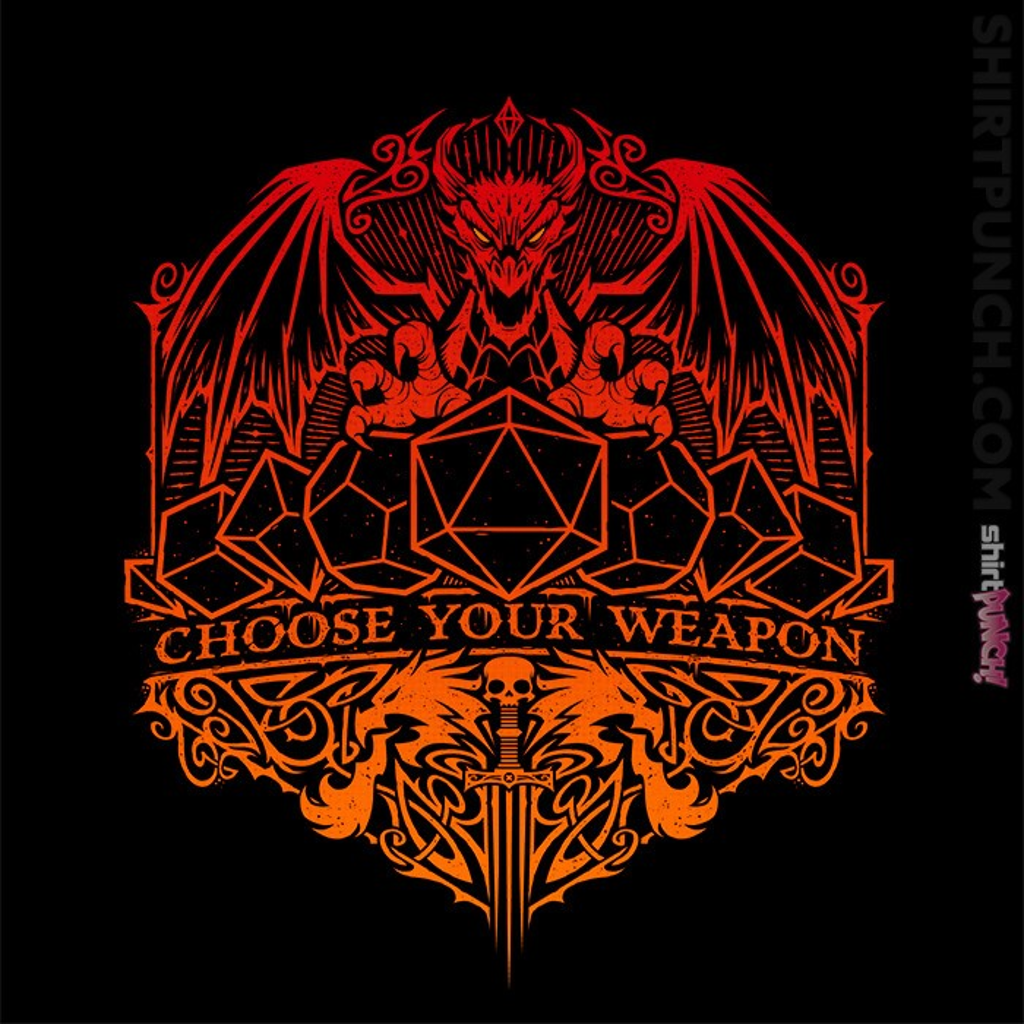 ShirtPunch: Choose Your Weapon