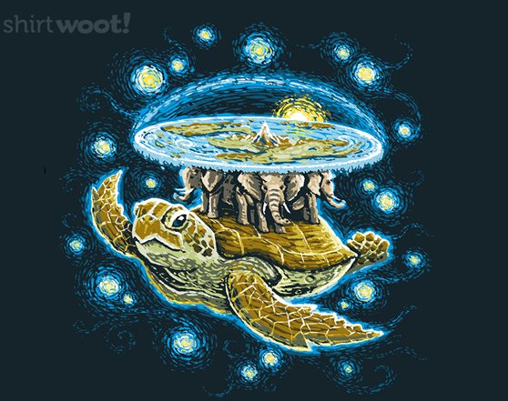 Woot!: Endless Starry Night - $7.00 + $5 standard shipping